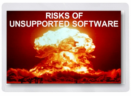 Unsupported Software Risks